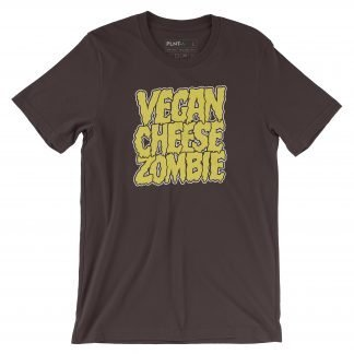Vegan T-shirt – Vegan Cheese Zombie